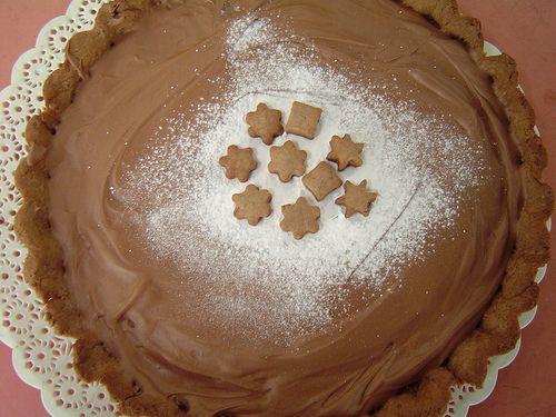 Milk Chocolate and Caramel Tart | PIES & TARTS | Pinterest