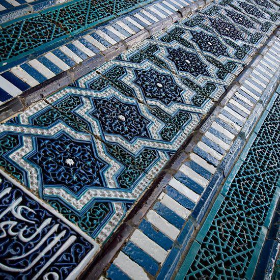 .Gorgeous tile work <3