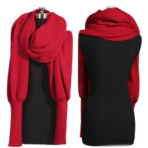 sleeve with single shawl scarf knitwear patterns knitted sweater Images - Frompo