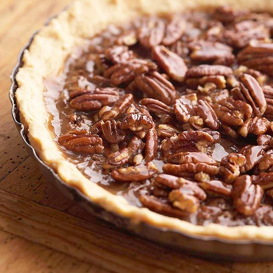 Honey-Crunch Chocolate-Pecan Pie- who needs Turkey and the trimmings ...