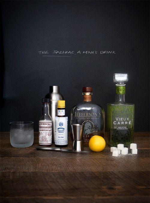 ... to taste absinthe or absinthe substitute lemon twist for garnish