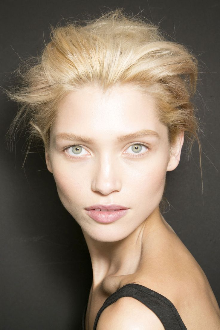 SPRING 2014 TOP HAIRSTYLES - Windswept Updos by Tom Ford