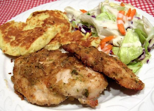 Weight Watchers Parmesan Chicken Cutlets - these are good. Will ...