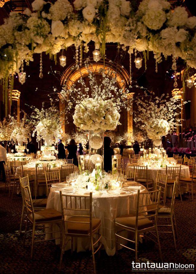 Lavish wedding reception