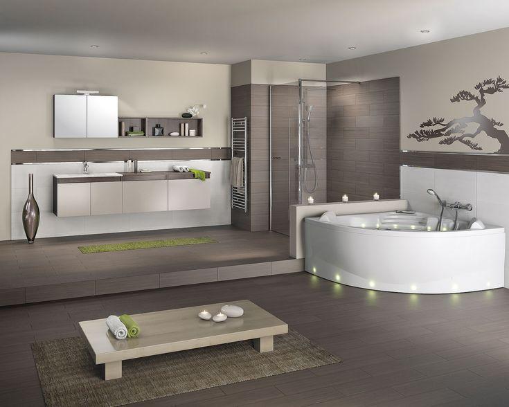 meuble salle de bain couleur corail