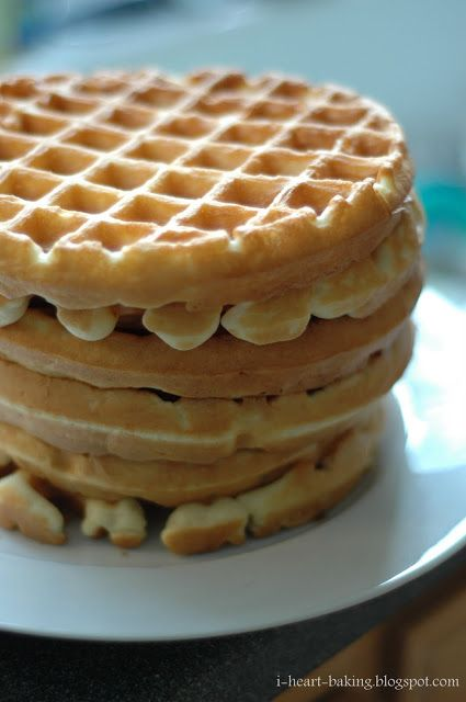 Light and Crispy Waffles ☆ | Good Eats | Breakfast | Waffles | Pint ...