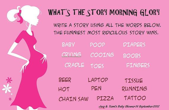 what 39 s the story baby shower game diy digital by mylilsecrets