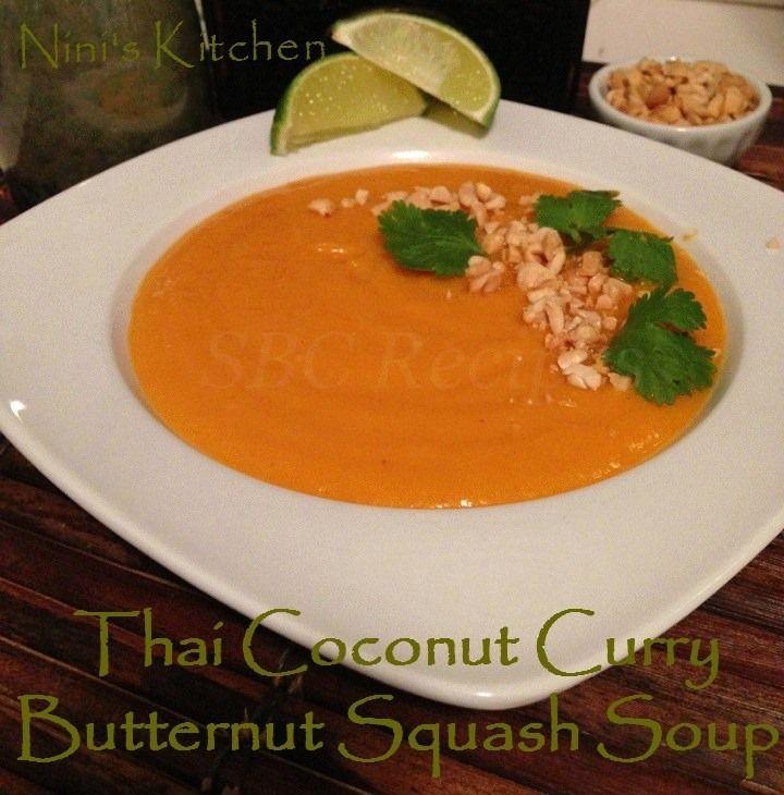 Thai Coconut Curry Butternut Squash Soup | Delish! | Pinterest