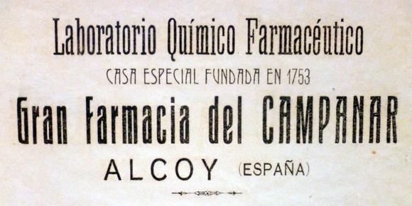farmacia del campanar, laboratorio químico,