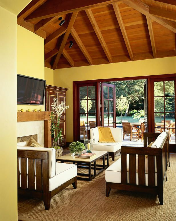 Tips to decorate with yellow ->  http://www.hgtv.com/decorating/decorating-with-sunny-yellow-paint-colors/index.html?soc=pinterest
