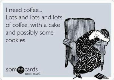 I need coffee ecard