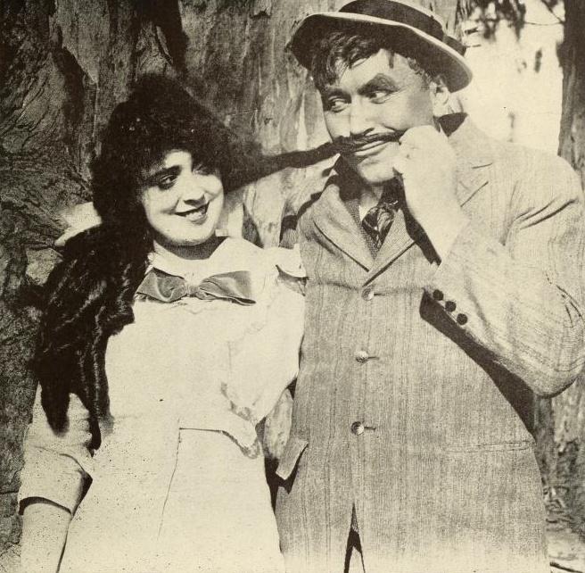 Mabel Normand, Mack Sennett   Pure. Awesomeness.   Pinterest