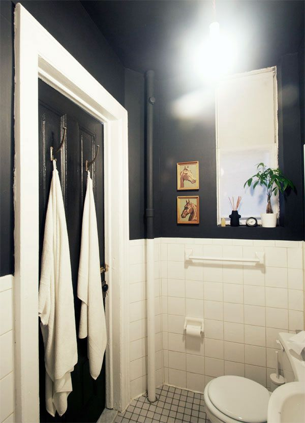 Black Bathroom Custom Inspiration Design