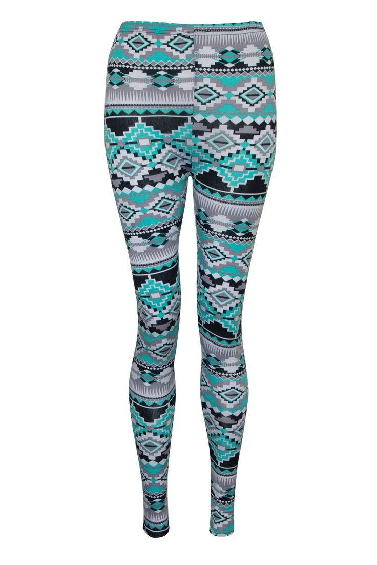 the gallery for gt aztec printed leggings outfits