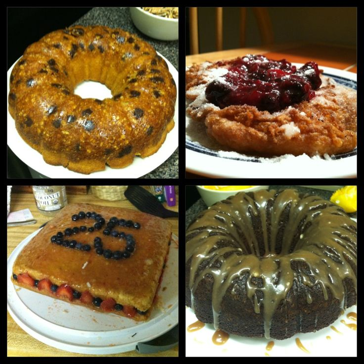 with Coffee Crumble and Chocolate Chips, Funnel Cake, Vegan Lemon Cake ...