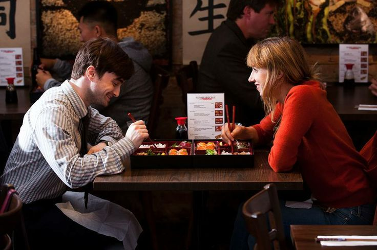 New still of What If (The F Word) Daniel Radcliffe and Zoe Kazan