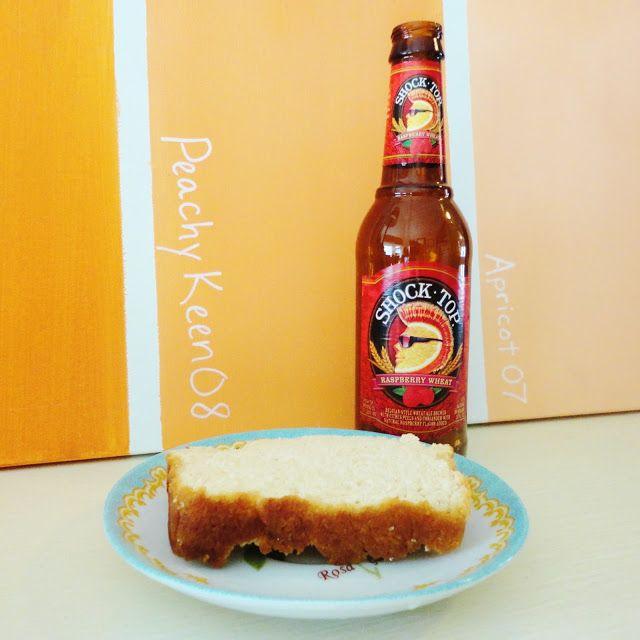 raspberry wheat beer bread | Baked goods | Pinterest