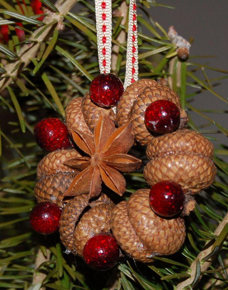 Acorn ornament christmas ornament ideas pinterest for Acorn decoration
