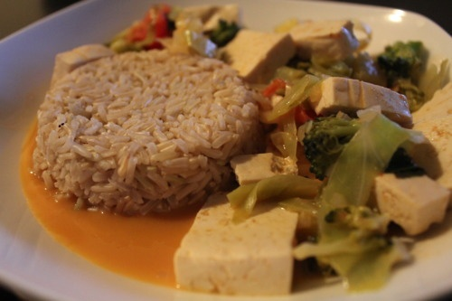 PENANG CURRY WITH TOFU AND PINEAPPLE   ECD Vegetarian Cookbook   Pint ...