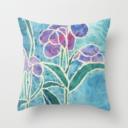 Stained Glass Throw Pillow Inside Pinterest