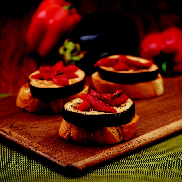 Roasted Eggplant and Red Pepper Sandwich | arizona department of heal ...
