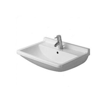 Duravit Pedestal Sink : Duravit Starck 3 Pedestal Sink Budget NYC Bathroom Pinterest