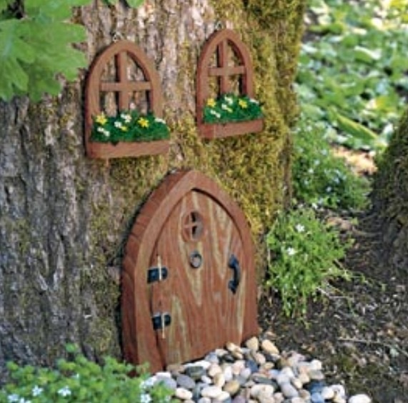 Happy lil gnome fairies and gnomes pinterest for Fairy doors for trees