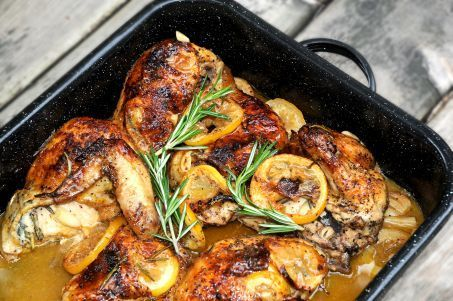 Lemon Rosemary Garlic Chicken by MLive.com#Chicken #Lemon #Garlic #Rosemary
