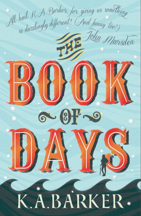 The Book of Days  by K.A. Barker