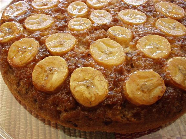 Banana-Chocolate Chip Upside Down Cake | Tasty treats | Pinterest