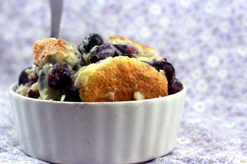 Blueberry Coconut Lime Pudding Cake | Coconut Milk Desserts | Pintere ...