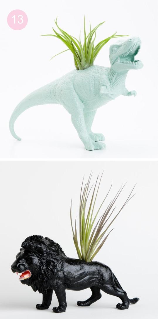dinosaur plant potters