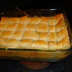 Easy As Chicken Pot Pie Allrecipes.com | Chicken | Pinterest