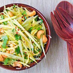 Thai-Inspired Green Mango and Papaya Salad