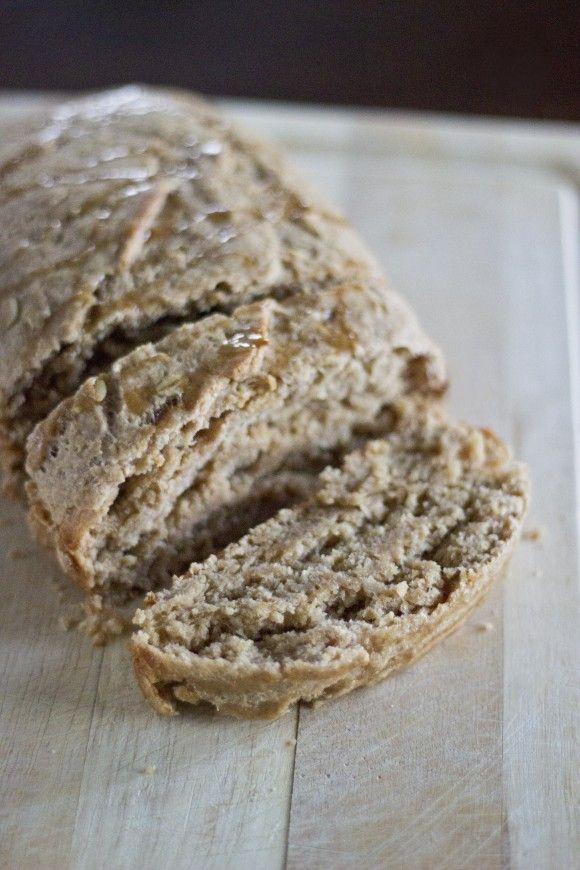 Maple Oat Bread (egg free & vegan option)