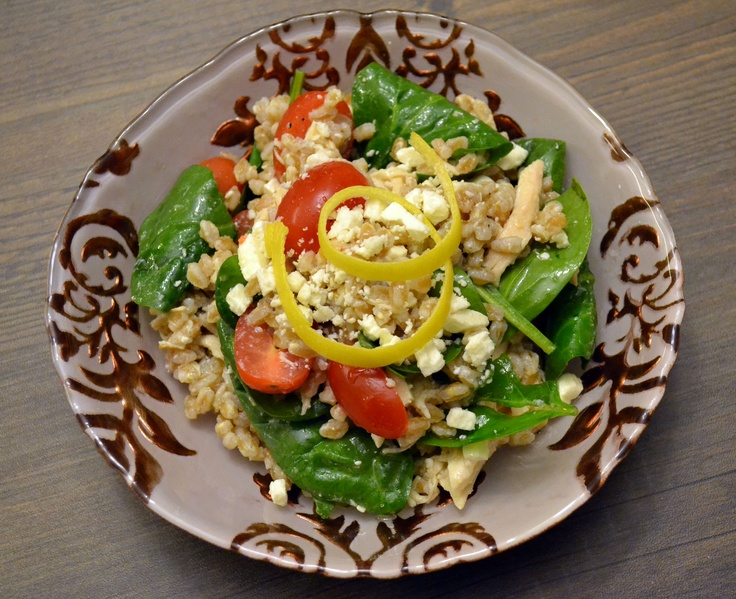 Lemon Farro Salad | Recipes | Pinterest