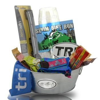 Gift basket ideas for runners best images about running themed gift gift basket ideas for runners pin by chalktalksports on triathlete gifts negle Choice Image