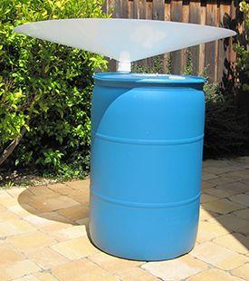 Rain barrel diy parts kit gardening outdoors pinterest for Diy small rain barrel