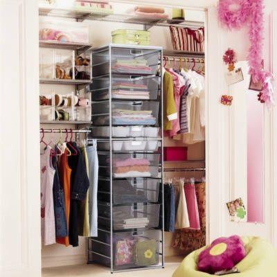 More Small Closet Organization Tips Future Home Pinterest