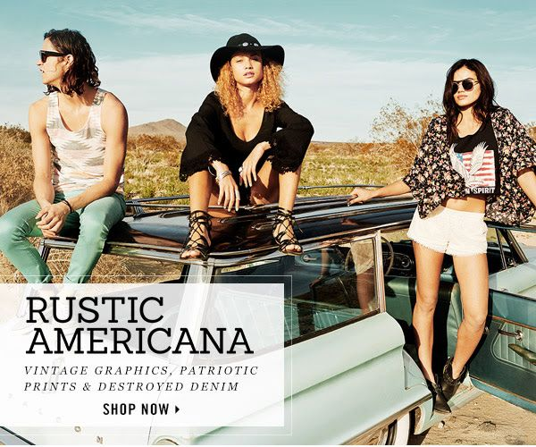 Rustic Americana  Vintage graphics  patriotic prints  amp  destroyed denim    Vintage Americana Graphics