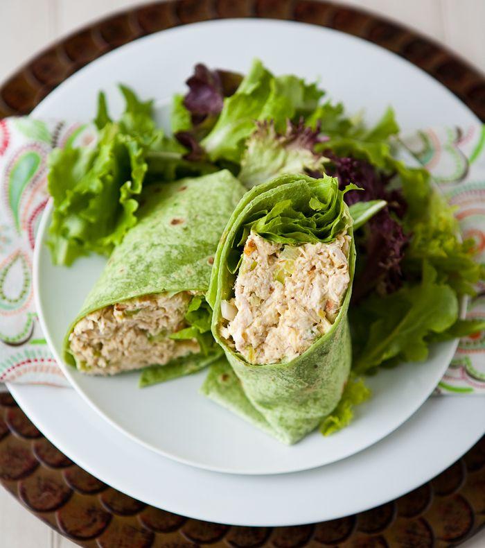Curried Peach Chicken Salad | Recipe
