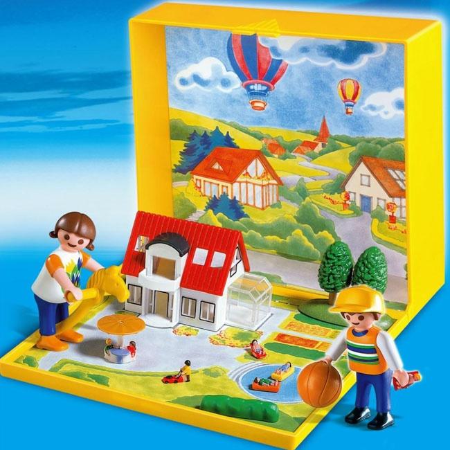 playmobil micro villa moderne buzz pinterest