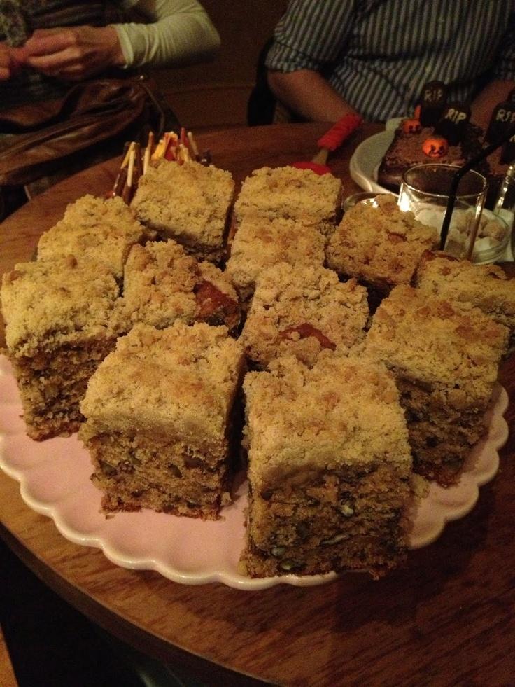 Butterscotch Pecan Crumb Cake   Butterscotch   Pinterest