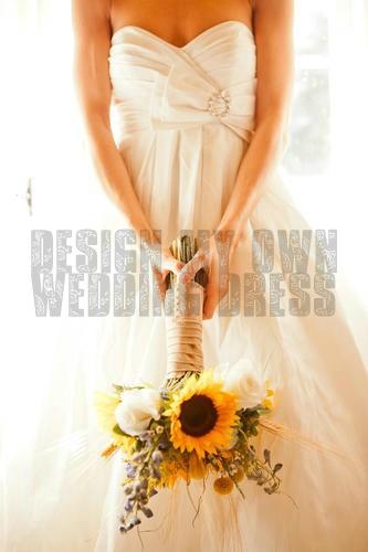 Design my own wedding dress <3