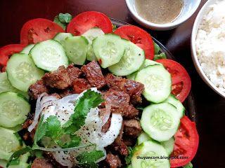 Bo Luc Lac - Shaking Beef | Menu - Vietnamese | Pinterest