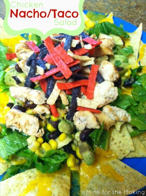 Chicken Nacho/T... Nacho Salat