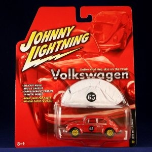 1965 BEETLE RALLYE #22 * RED * Johnny Lightning 2005 VOLKSWAGEN II RELEASE 3 1:64 Scale Die Cast Vehicle (Toy)