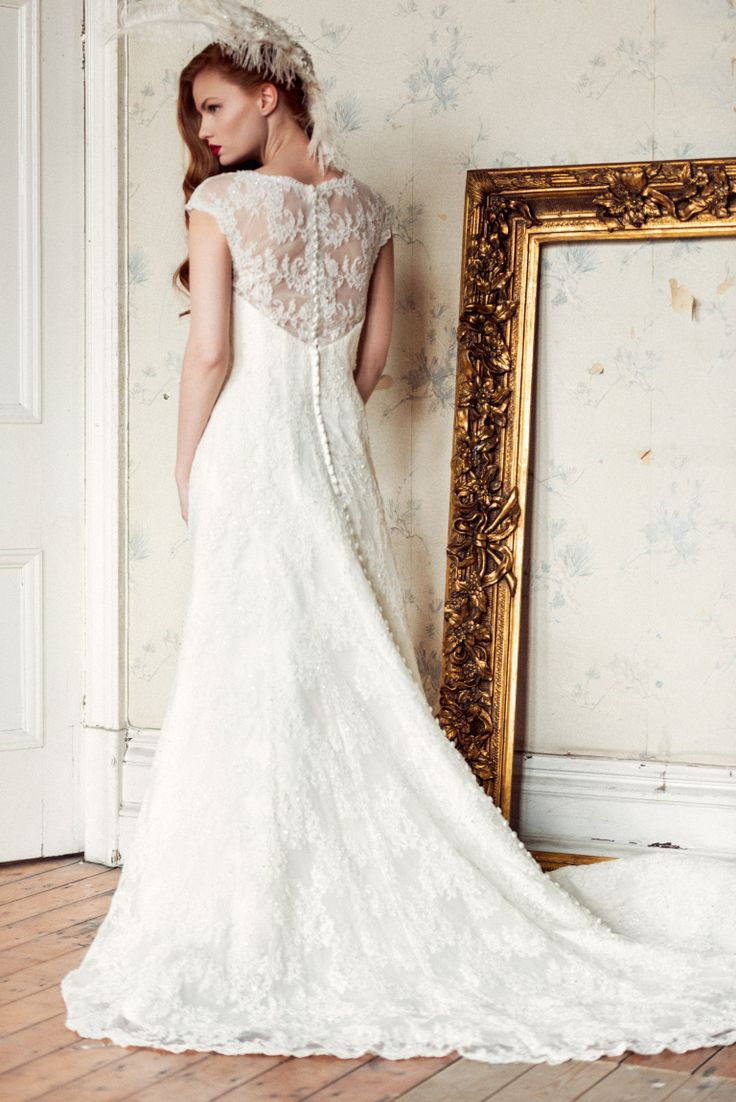 Wedding Gowns For   In Pretoria : Pretoria a lace panel here some embroidery there is sublime
