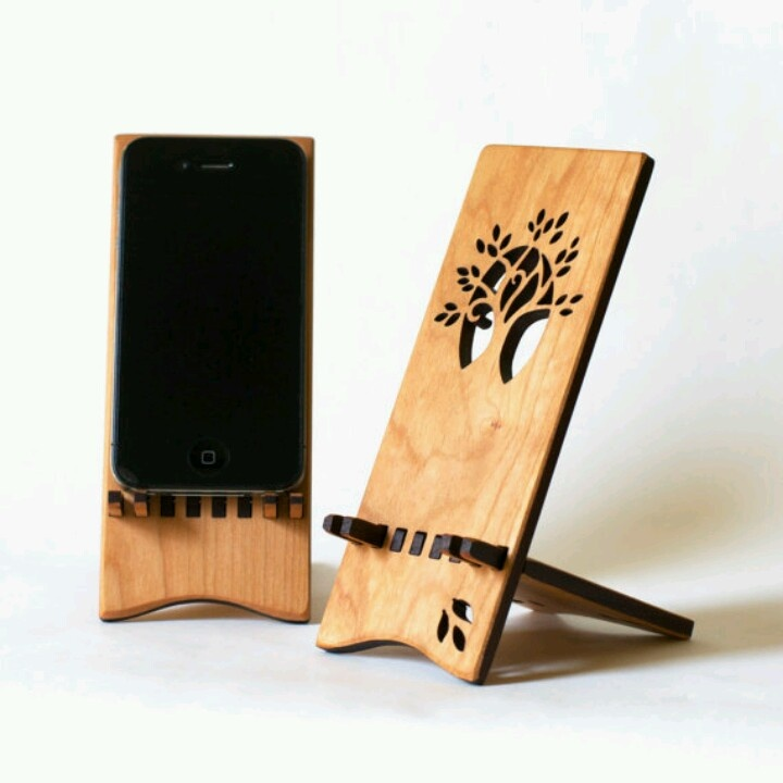 Wooden Iphone Stand ~ Wooden iphone stand via etsy products i love pinterest