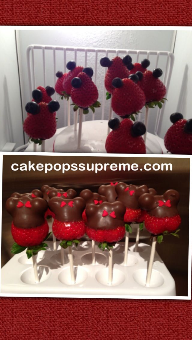strawberry, blueberry and chocolate! | Sweet treats for kids party ...